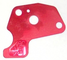 Restrictor plate Red (.375) ARC