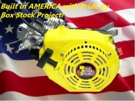 BUILT IN AMERICA WITH PRIDE BY THE BOX STOCK PROJECT INC.
