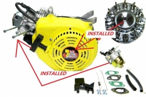 Original Box Stock Project Engine & ARC Flywheel  (OPTIONS UPGRADE)