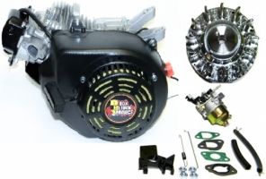 (TEMP. OUT) NEW JT223 Head! Original Box Stock Project (Black Out) Engine Kit with ARC Flywheel