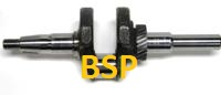 BSP 212cc Crankshaft. Balanced, Hardened, and heat treated.
